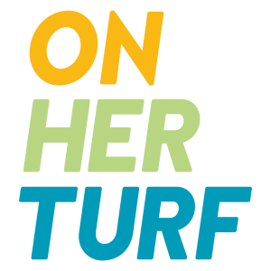 On Her Turf logo