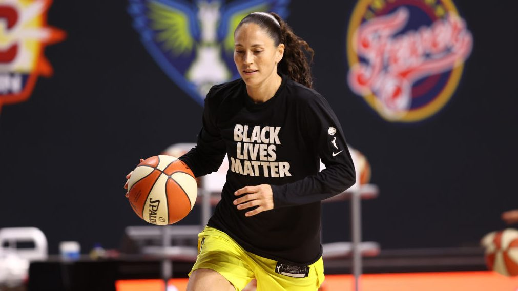 Sue Bird of the Seattle Storm