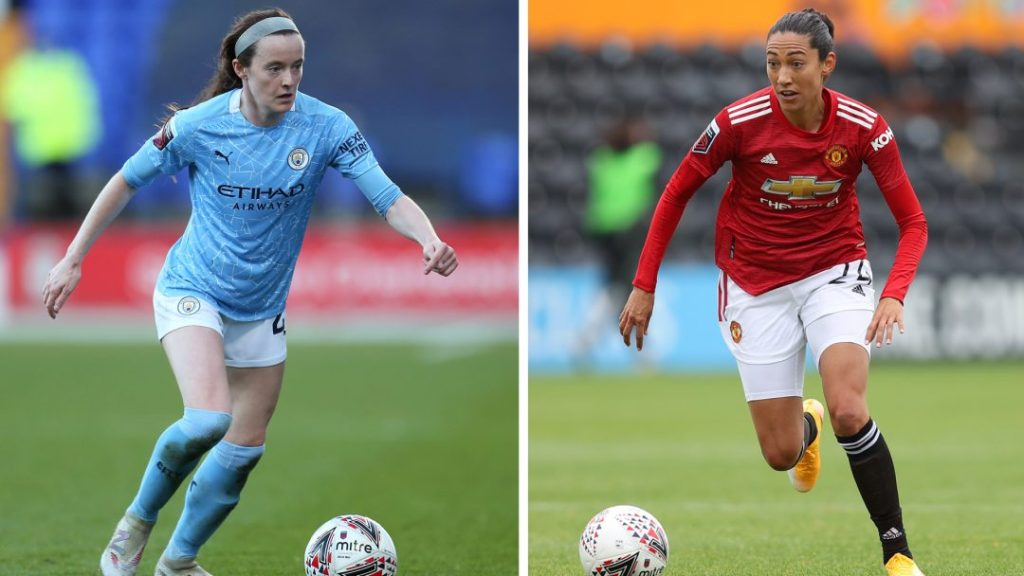 Sam Lewis, Christen Press, Manchester City, Manchester United, WSL