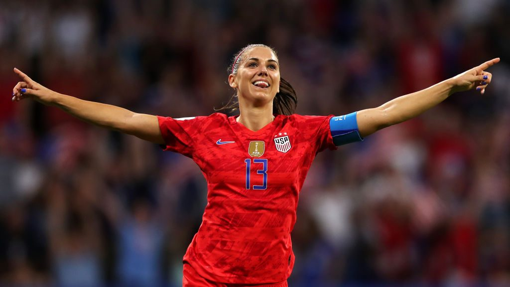 Alex Morgan named to USWNT roster