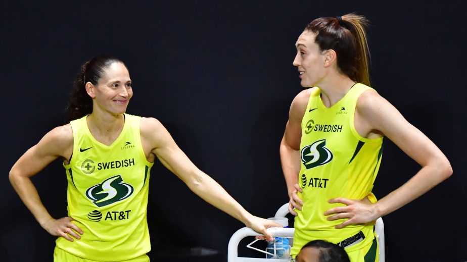 Sue Bird, Breanna Stewart