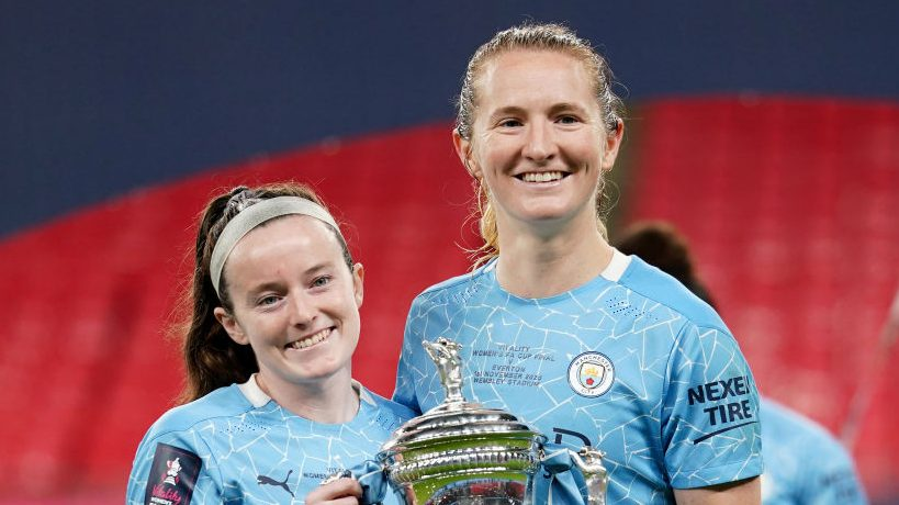 Sam Mewis, Rose Lavelle, Manchester City