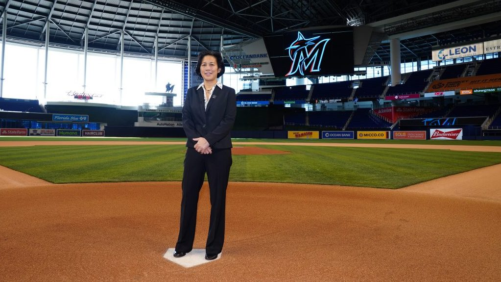 Kim Ng, First Female GM in MLB, Miami Marlins