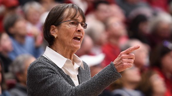 Tara VanDerveer became the winningest women's college basketball coach Tuesday night, passing the late Pat Summitt with her 1,099th victory