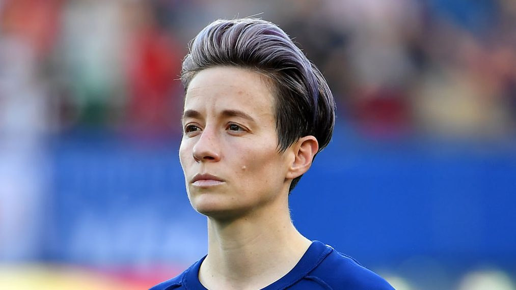 Megan Rapinoe is back with the USWNT for January's training camp