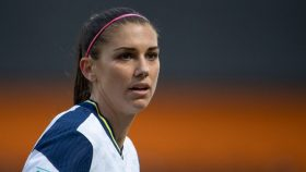 Alex Morgan announced that she contracted COVID-19