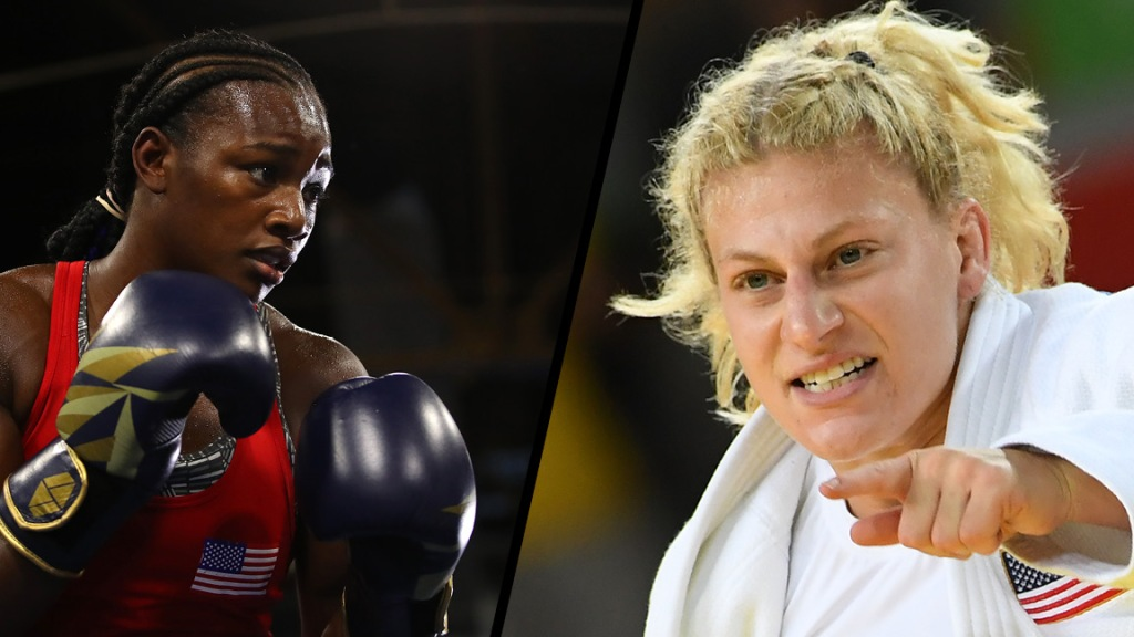 Boxer Claressa Shields and judoka Kayla Harrison now compete in MMA