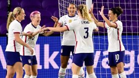 The U.S. womens national soccer team defeated Colombia