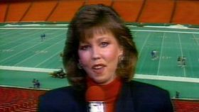 In 1987, Gayle Sierens became the first woman to ever call play-by-play of an NFL game