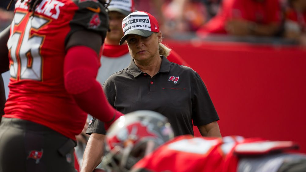 At this year's Super Bowl, there will be two female coaches on the field: Maral Javadifar and Lori Locust, both of the Tampa Bay Buccaneers