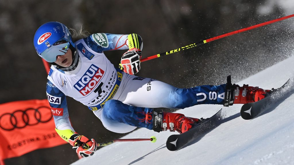 Mikaela Shiffrin at the 2021 World Championships