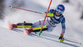 Mikaela Shiffrin at the 2021 World Alpine Skiing Championships