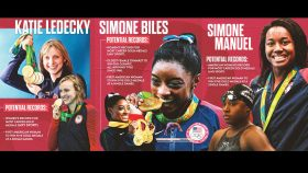 Simone Biles, Katie Ledecky, and Simone Manuel all have the potential to become the first U.S. woman to win five gold medals at a single Olympics