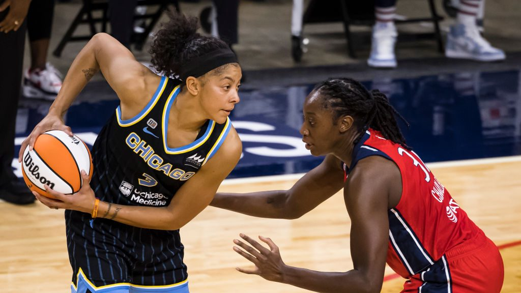 Candace Parker of the Chicago Sky