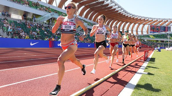 Emily Sisson, Karissa Schweizer and Alicia Monson qualified for the Tokyo Olympics in the women's 10000m