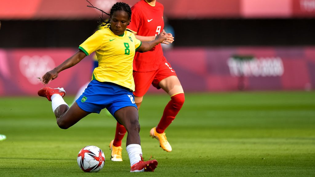 Formiga, 43, is making her 7th Olympic appearance at the 2021 Tokyo Olympics