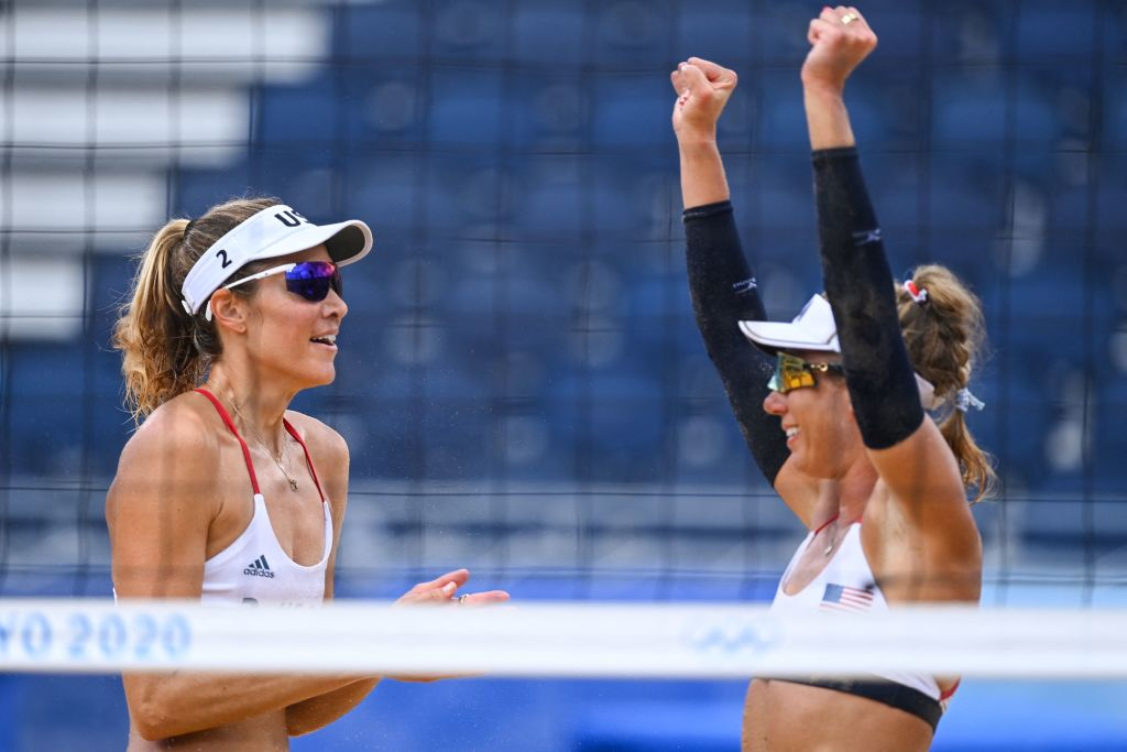 BEACH VOLLEYBALL-OLY-2020-2021-TOKYO-GER-USA