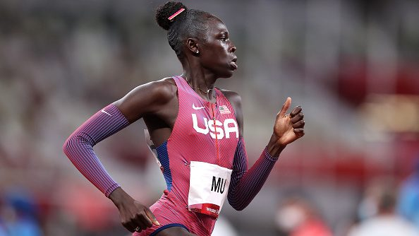 Athing Mu wins gold in the 800 meters at the Tokyo Olympic Games