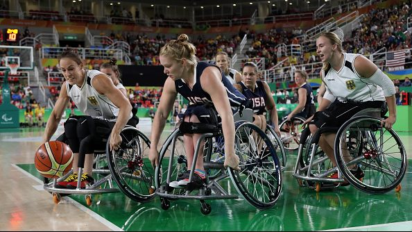 The US women's wheelchair basketball team won gold at the 2016 Rio Paralympics